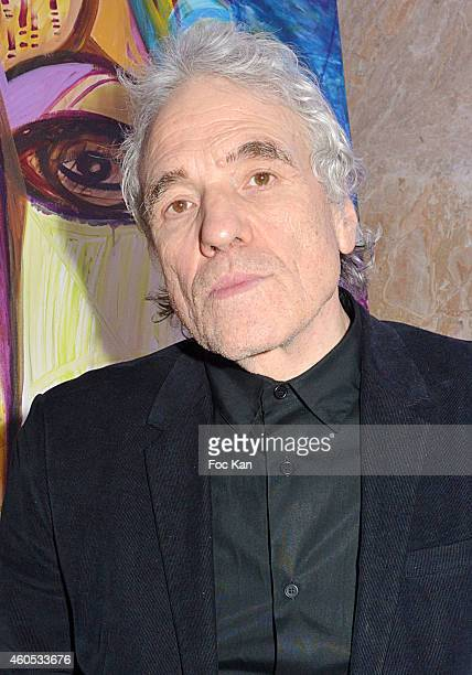Best 2014 awarded director Abel Ferrara attends 'The Best' Awards 2014 Ceremony At Salons Hoche on December 15 2014 in Paris France
