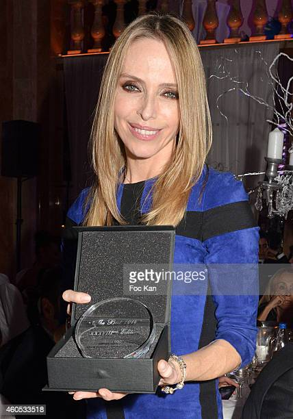 Best 2014 awarded Tonya Kinzinger attends 'The Best' Awards 2014 Ceremony At Salons Hoche on December 15 2014 in Paris France