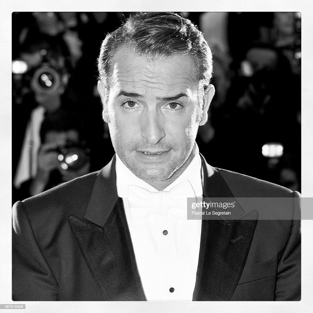 Best Actor Jean Dujardin for the film 'The Artist' poses at the Palme d'Or Winners Photocall at the Palais des Festivals during the 64th Cannes Film...