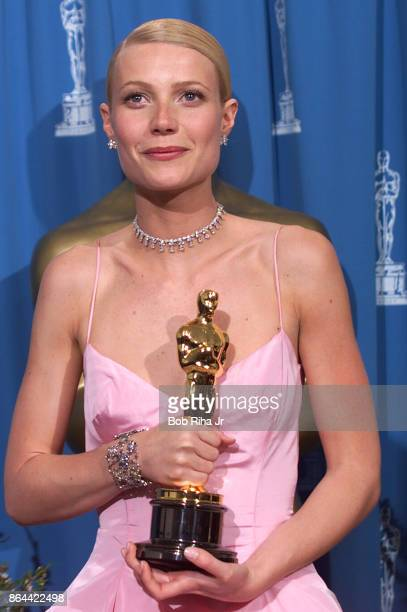 Best Actress Winner Gwyneth Paltrow at the 71st Annual Academy Awards on March 21 1999 In Los Angeles California