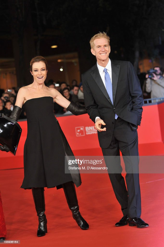 Best debut and second film award jury Matthew Modine and Stefania Rocca attend the Opening Night and 'Waiting For The Sea' Premiere during the 7th...