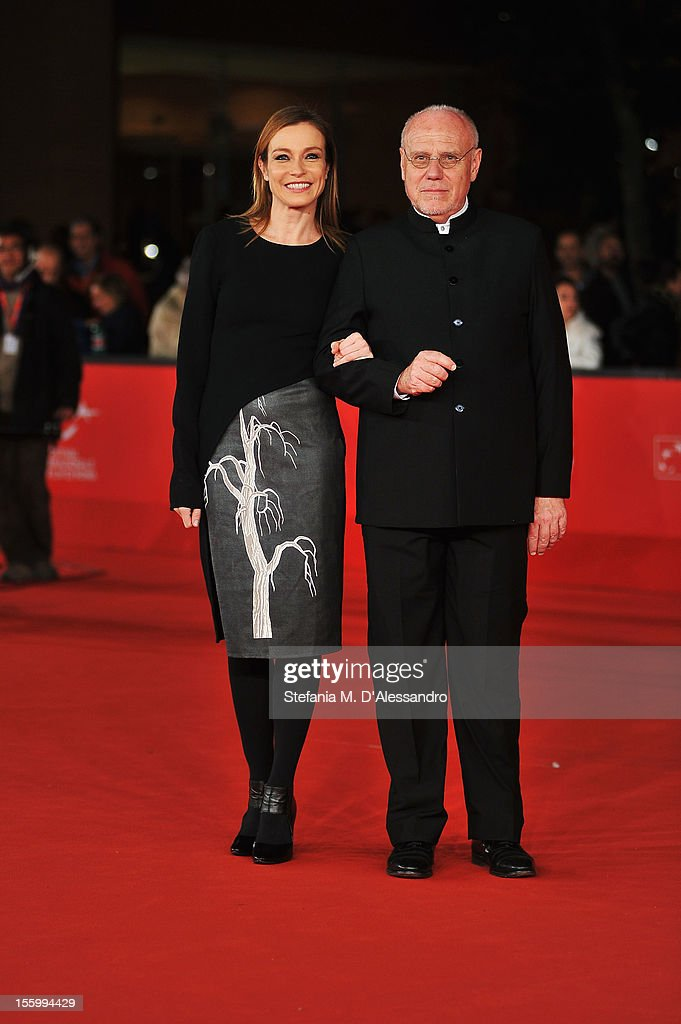 Best Debut and Second Film Award Jury member Stefania Rocca and Festival Director Marco Muller attend the Opera Prima And Seconda Jury Red Carpet...