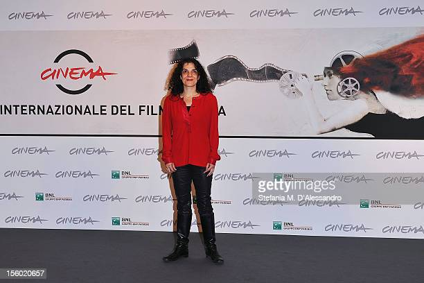Best Debut and Second Film Award Jury member Tanya Seghatchian attends the Jury Opera Prima Photocall during the 7th Rome Film Festival at the...