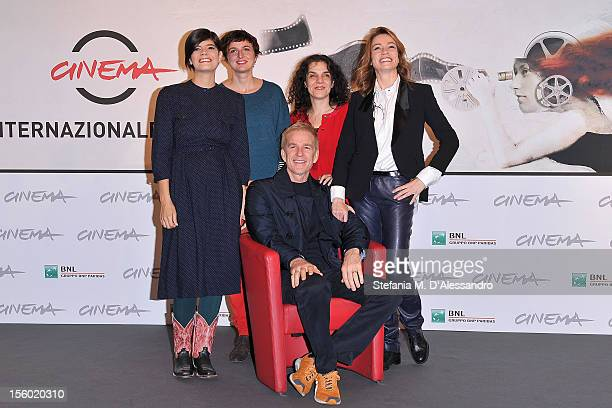 Best Debut and Second Film Award Jury members Laura Amelia Guzman Alice Rohrwacher Matthew Modine Tanya Seghatchian and Stefania Rocca attend the...