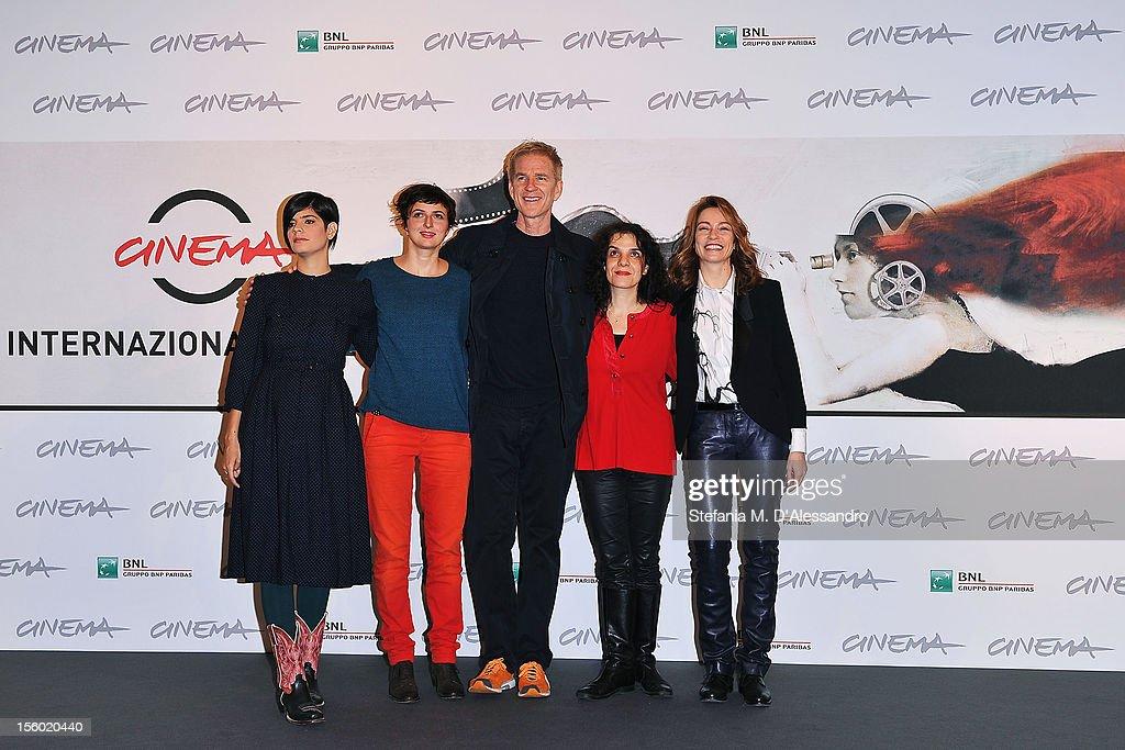 Best Debut and Second Film Award Jury members Laura Amelia Guzman Alice Rohrwacher Matthew Modine Tanya Seghatchian and Stefania Rocca attend the...