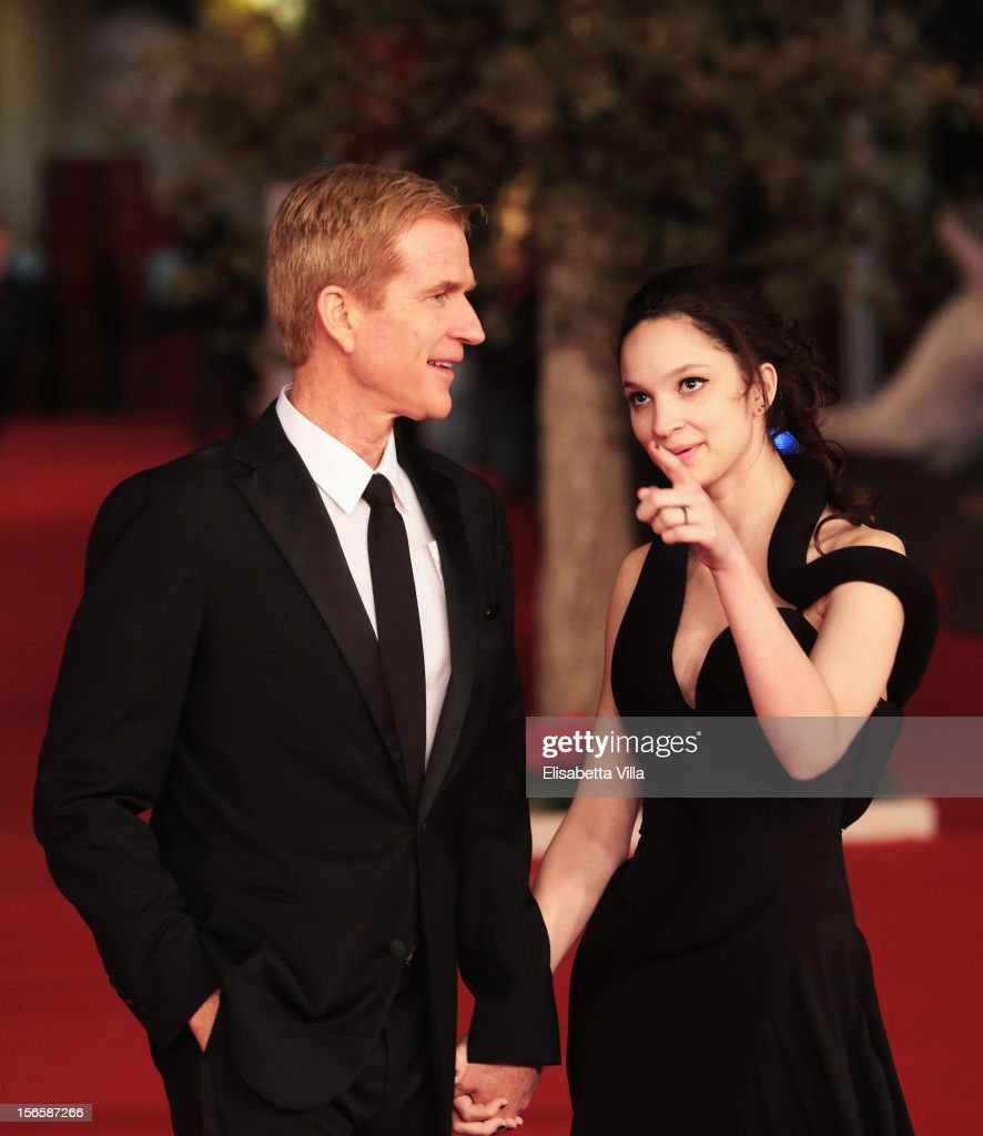 Best Debut and Second Film Award Jury members Matthew Modine and Ruby Modine attend the Closing Ceremony during the 7th Rome Film Festival at Auditorium Parco Della Musica on November 17, 2012 in Rome, Italy.