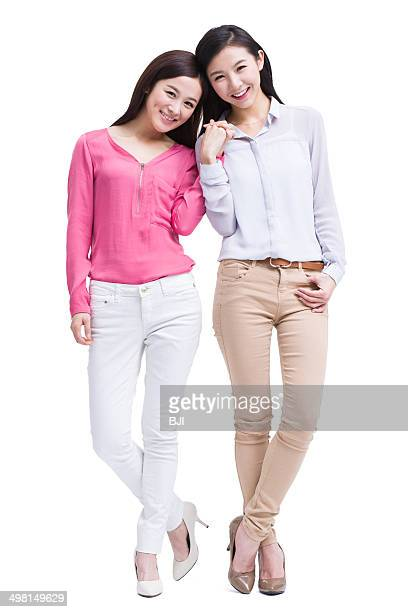 Best female friends holding hands