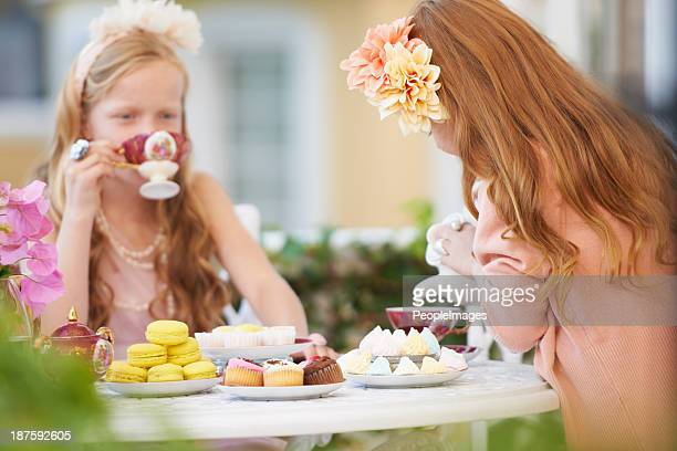 Best friend tea parties