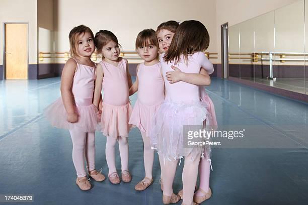 Best Friends at Ballet Practice