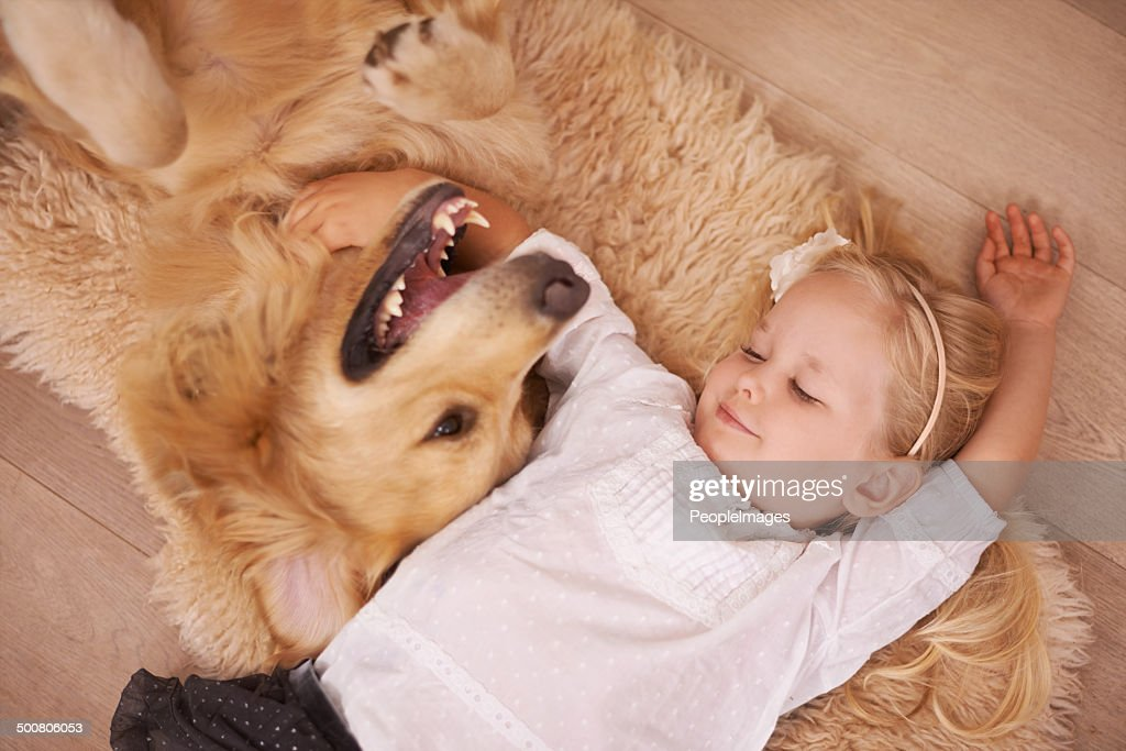 Best friends for life : Stock Photo