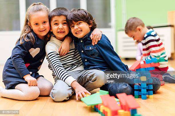 Beste Freunde auf Ewig in bereits im Kindergarten