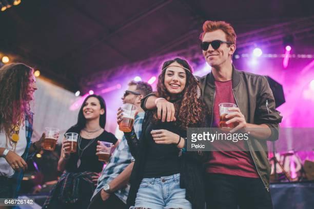 Best friends on the best summer festival