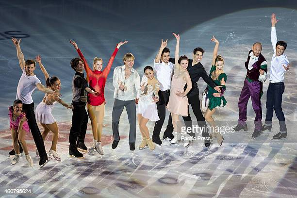 Best ice skaters of the world during the 8th edition of Golden Skate Awards at Palavela of Turin