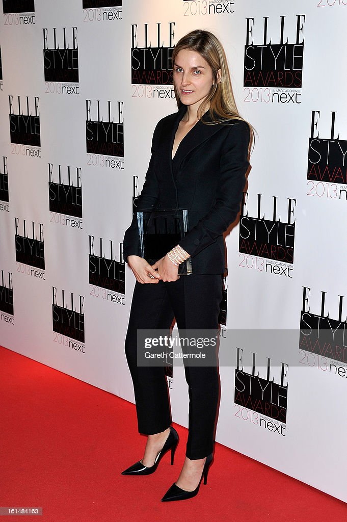 Best Jewellery Designer of the year Gaia Repossi poses in the press room during the Elle Style Awards at The Savoy Hotel on February 11, 2013 in London, England.