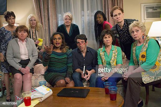 PROJECT 'Best Man' Episode 321 Pictured Mindy Kaling as Mindy Lahiri Chris Messina as Danny Castellano Xosha Roquemore as Tamra Rhea Pearlman as...