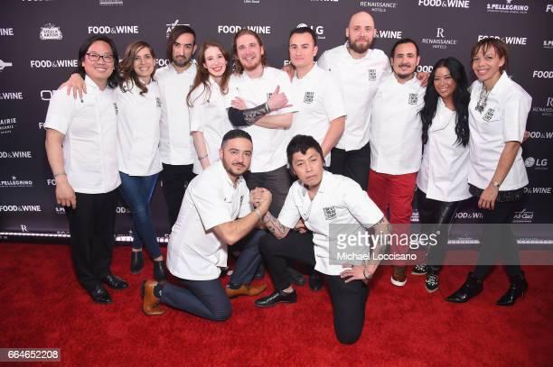 Best New Chefs Peter Cho Sara Kramer Jordan Kahn Sarah Hymanson Noah Sandoval Val Cantu Jay Blackinton Rico Torres Angie Mar Nina Compton Diego...