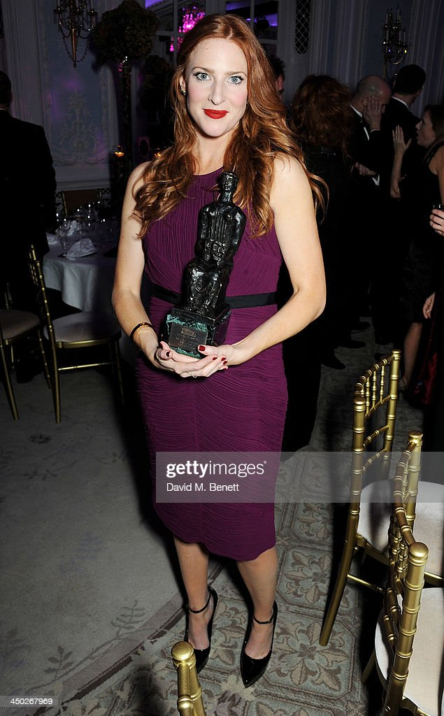 Best Performance in a Musical winner Rosalie Craig attends an after party following the 59th London Evening Standard Theatre Awards at The Savoy Hotel on November 17, 2013 in London, England.