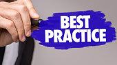 Best Practice sign