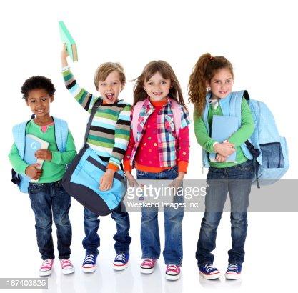 Best   students : Stock Photo