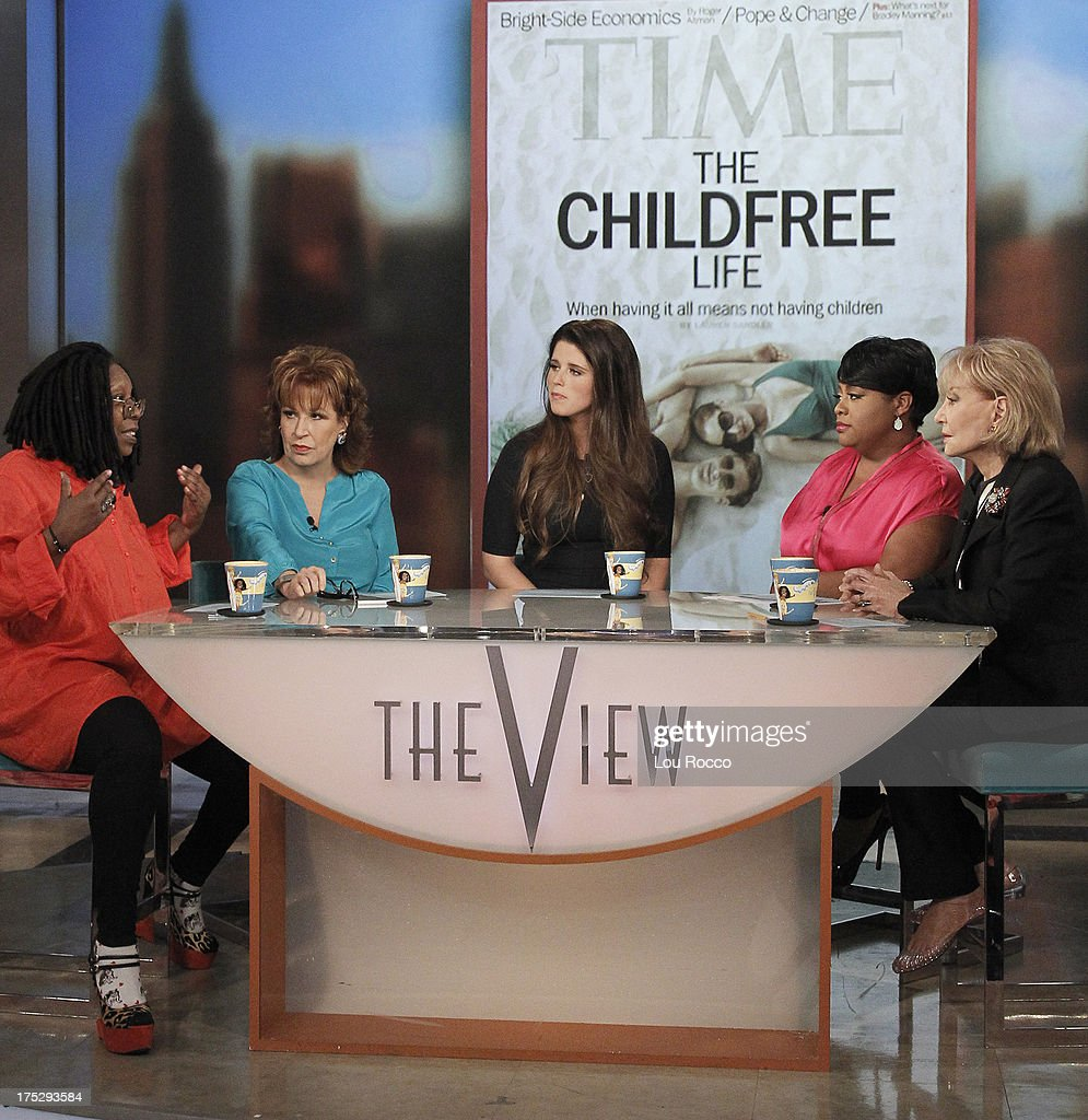THE VIEW - Best-selling author and activist Katherine Schwarzenegger guest co-hosts today, August 1, 2013 on ABC's 'The View.' Guests include Dane Cook and Danielle Steel. 'The View' airs Monday-Friday (11:00 am-12:00 pm, ET) on the ABC Television Network. WALTERS