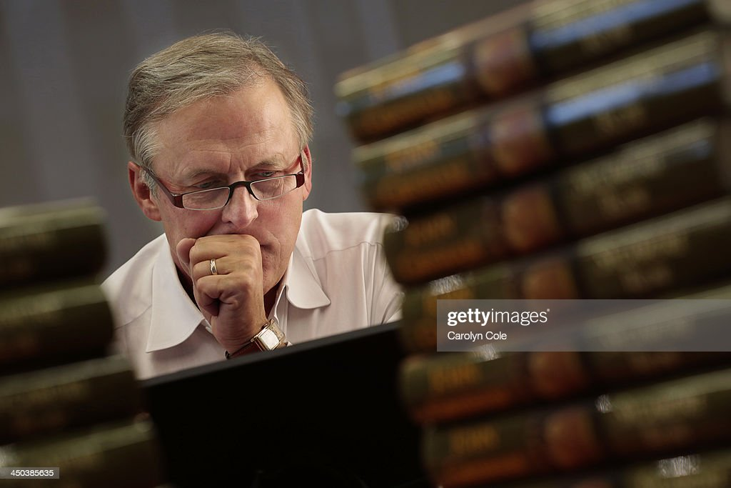 Bestselling author <a gi-track='captionPersonalityLinkClicked' href=/galleries/search?phrase=John+Grisham&family=editorial&specificpeople=1676716 ng-click='$event.stopPropagation()'>John Grisham</a> is photographed for Los Angeles Times on October 22, 2013 in New York City. PUBLISHED IMAGE.