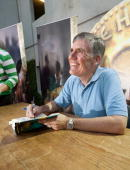 Bestselling Author Rick Riordan signs his new book fot fans at a book launch celebration for 'The Lost Hero' on October 12 2010 in Austin Texas
