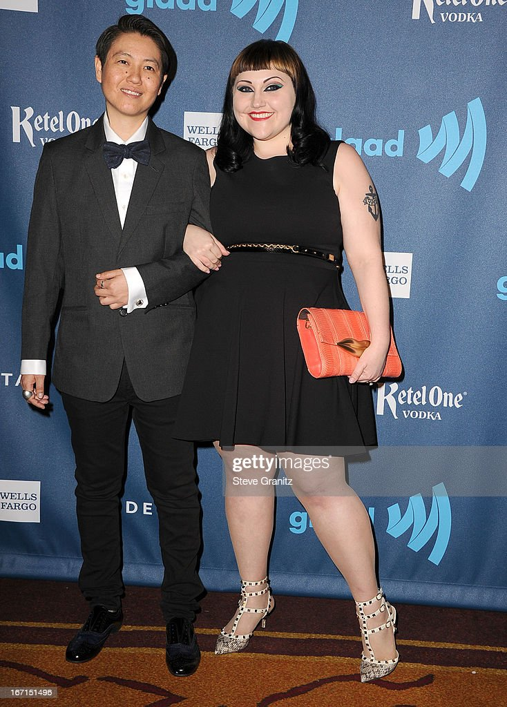 Bet Ditto arrives at the 24th Annual GLAAD Media Awards at JW Marriott Los Angeles at L.A. LIVE on April 20, 2013 in Los Angeles, California.
