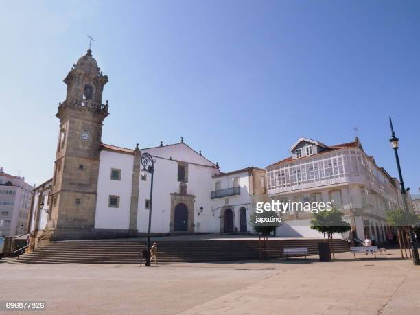 Betanzos. Church of Santo Domingo. Siglo XVlll  in the Square of the Brothers Garcia Naveira. City center