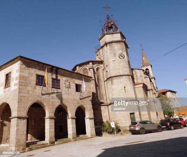 Betanzos. Parish church of Santiago. Century XVI