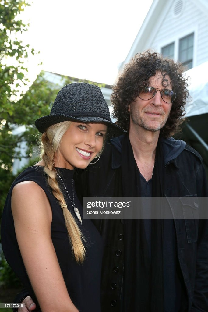 Beth and <a gi-track='captionPersonalityLinkClicked' href=/galleries/search?phrase=Howard+Stern+-+Media+Personality&family=editorial&specificpeople=211543 ng-click='$event.stopPropagation()'>Howard Stern</a> attend Get Wild Event Benefiting Evelyn Alexander Wildlife Rescue Center at Private Residence on June 22, 2013 in Southampton, New York.