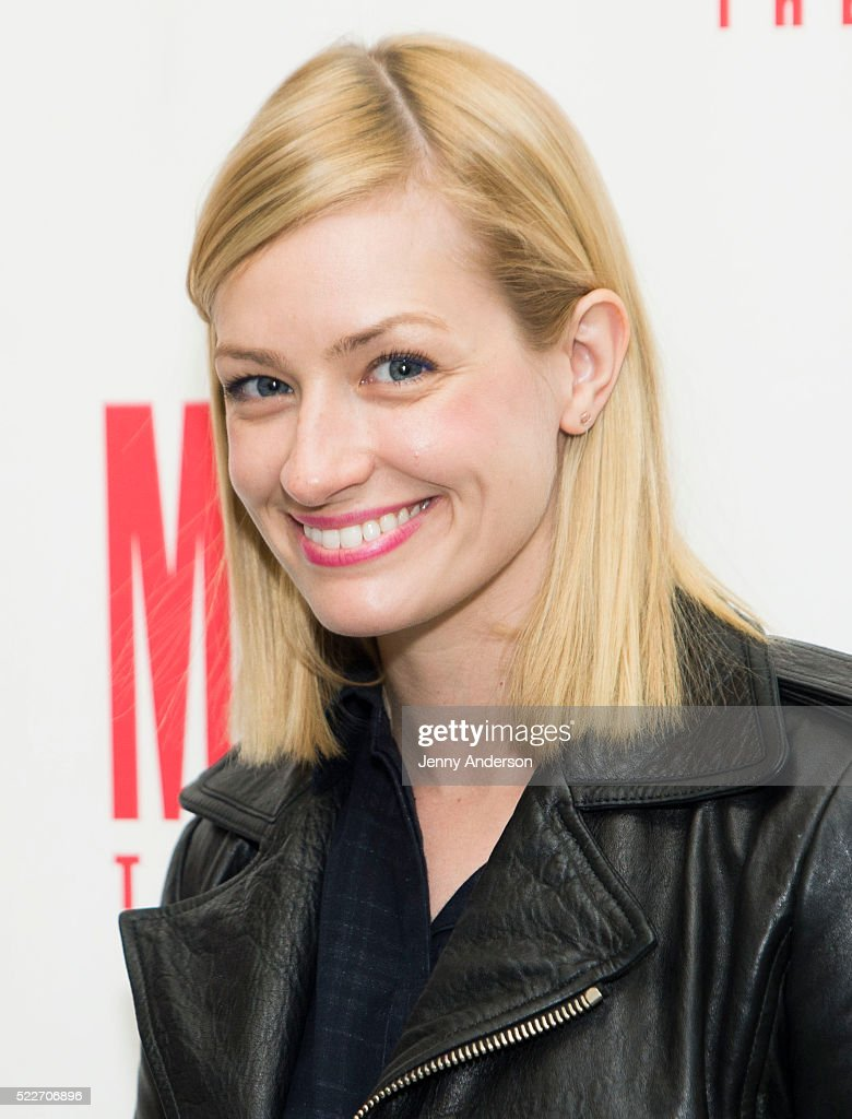 Beth Behrs funny thing happened