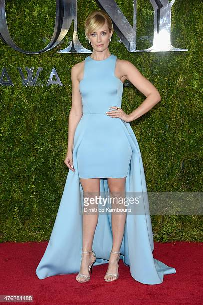 Beth Behrs attends the 2015 Tony Awards at Radio City Music Hall on June 7 2015 in New York City