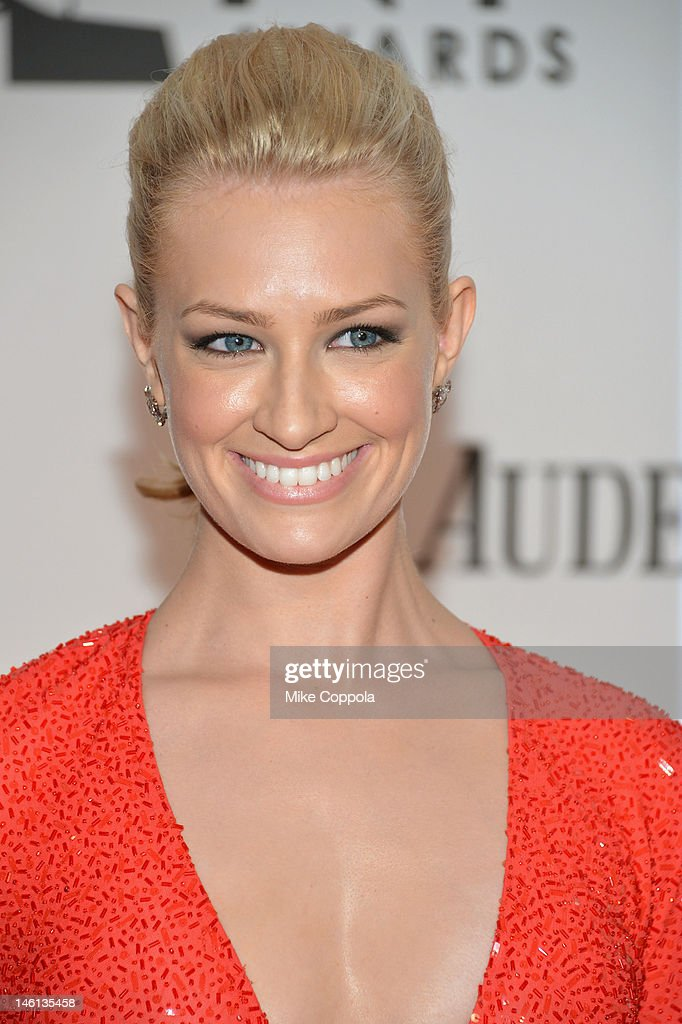 Beth Behrs attends the 66th Annual Tony Awards at The Beacon Theatre on June 10, 2012 in New York City.