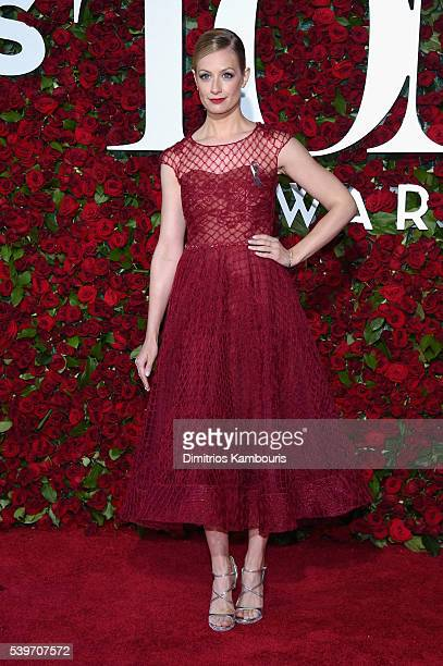 Beth Behrs attends the 70th Annual Tony Awards at The Beacon Theatre on June 12 2016 in New York City