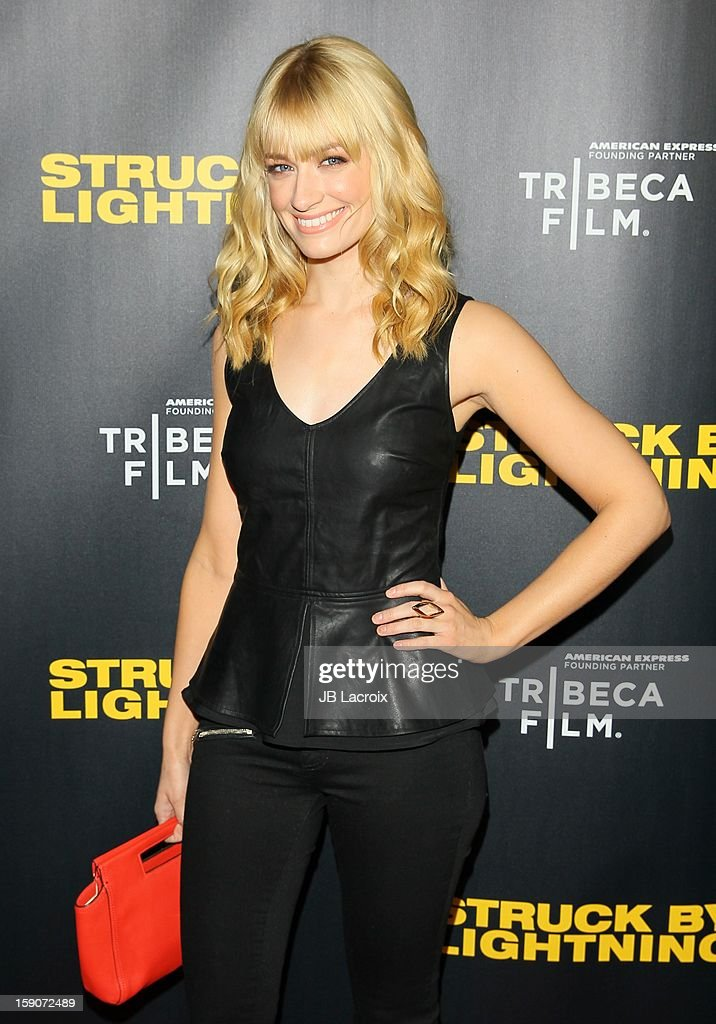 Beth Behrs attends the 'Struck By Lighting' premiere held at Mann Chinese 6 on January 6, 2013 in Los Angeles, California.