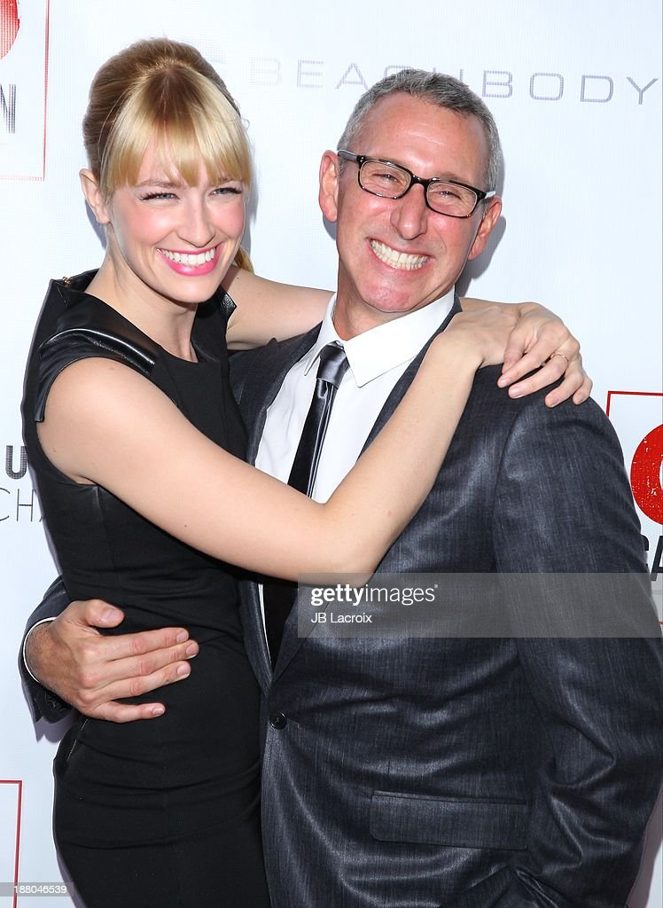 Beth Berhs and <a gi-track='captionPersonalityLinkClicked' href=/galleries/search?phrase=Adam+Shankman&family=editorial&specificpeople=1295239 ng-click='$event.stopPropagation()'>Adam Shankman</a> attends the 6th Annual GO GO Gala at Bel Air Bay Club on November 14, 2013 in Pacific Palisades, California.
