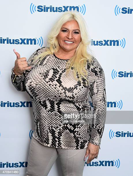 Beth Chapman visits the SiriusXM Studios on April 24 2015 in New York City