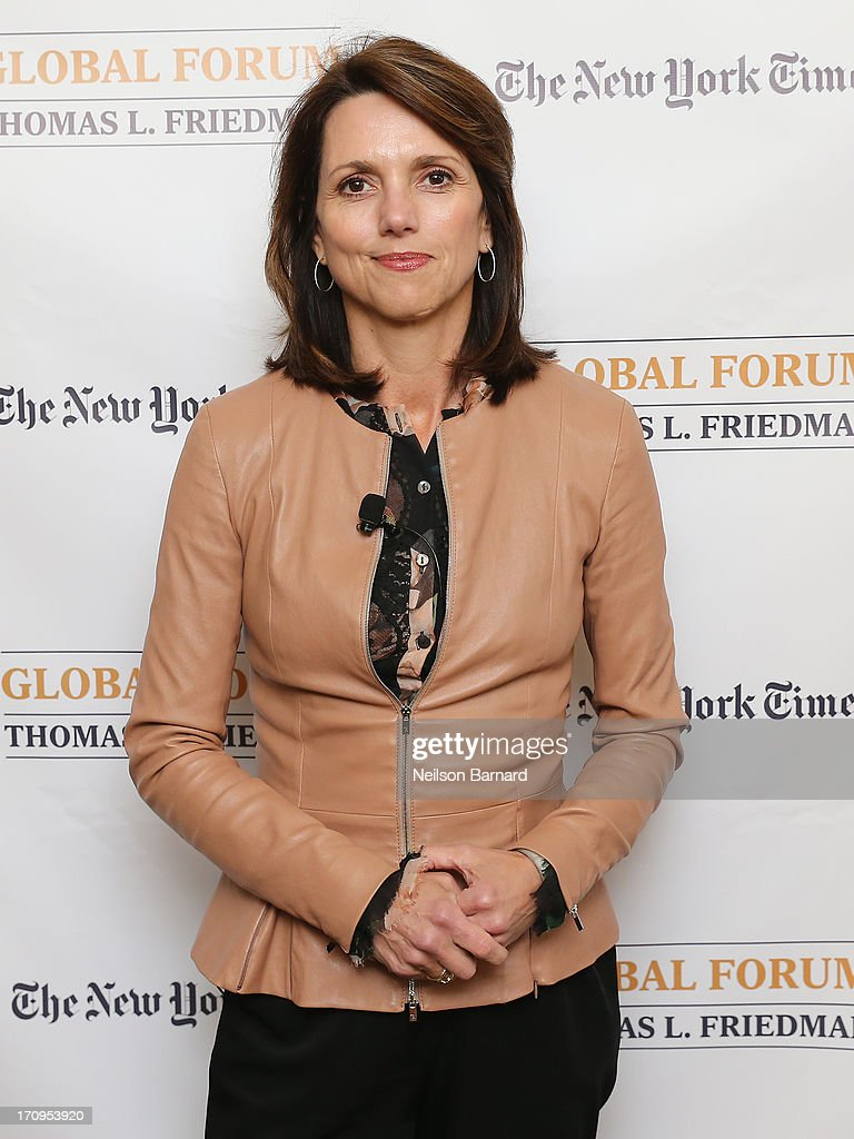 Beth Comstock, CMO and Senior Vice President, GE attends The New York Times Global Forum with Thomas L. Friedman at the Metreon on June 20, 2013 in San Francisco, California.