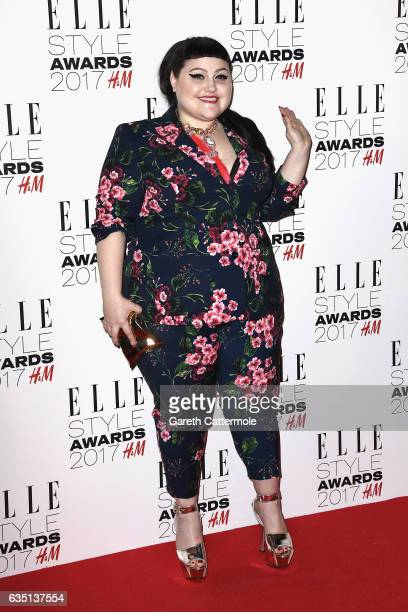 Beth Ditto attends the Elle Style Awards 2017 on February 13 2017 in London England
