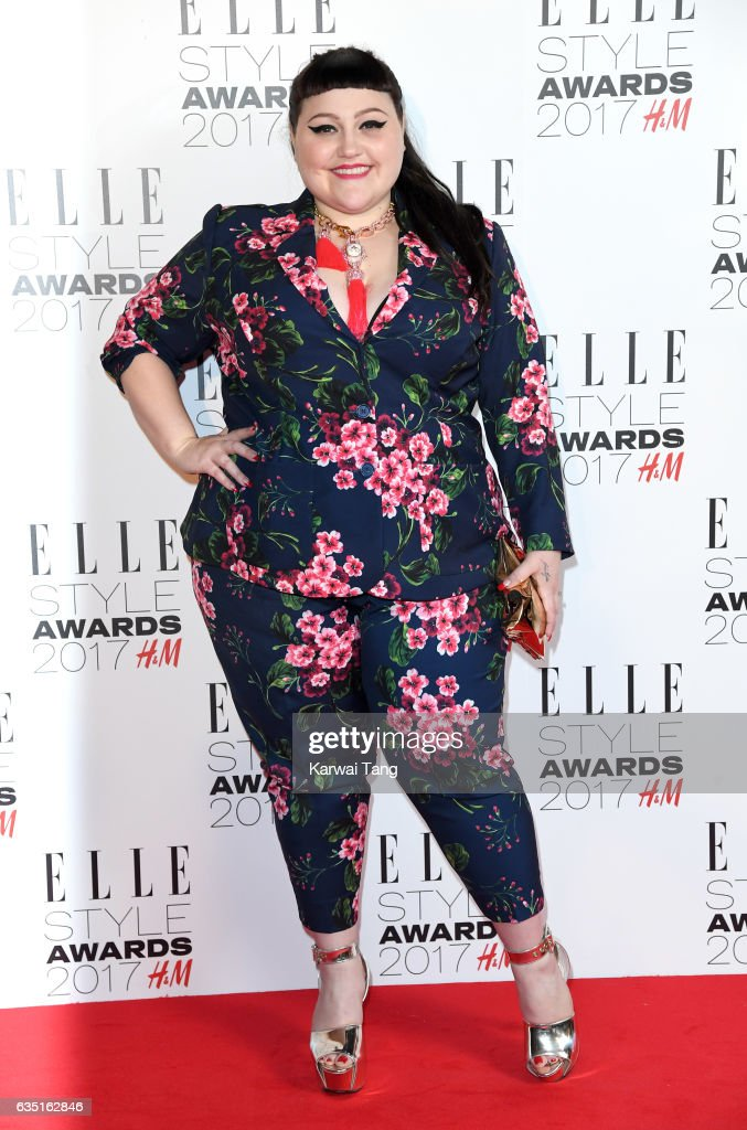 Beth Ditto attends the Elle Style Awards 2017 on February 13, 2017 in London, England.