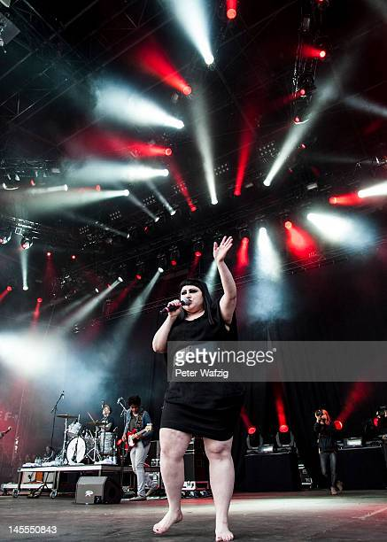 Beth Ditto of Gossip performs on stage during the first day of Rock Am Ring on June 01 2012 in Nuerburg Germany