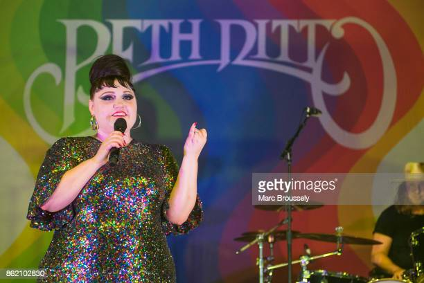 Beth Ditto performs at KOKO on October 16 2017 in London England