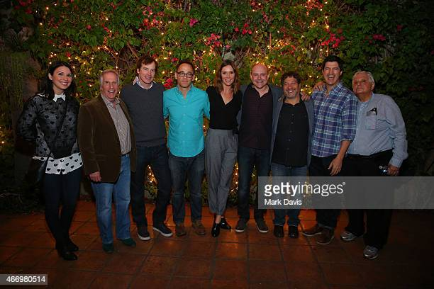 Beth Dover Henry Winkler Rob Huebel David Wain Erin Hayes Rob Corddry Jon Stern and Ken Marino attend the Adult Swim presents the 'Childrens...