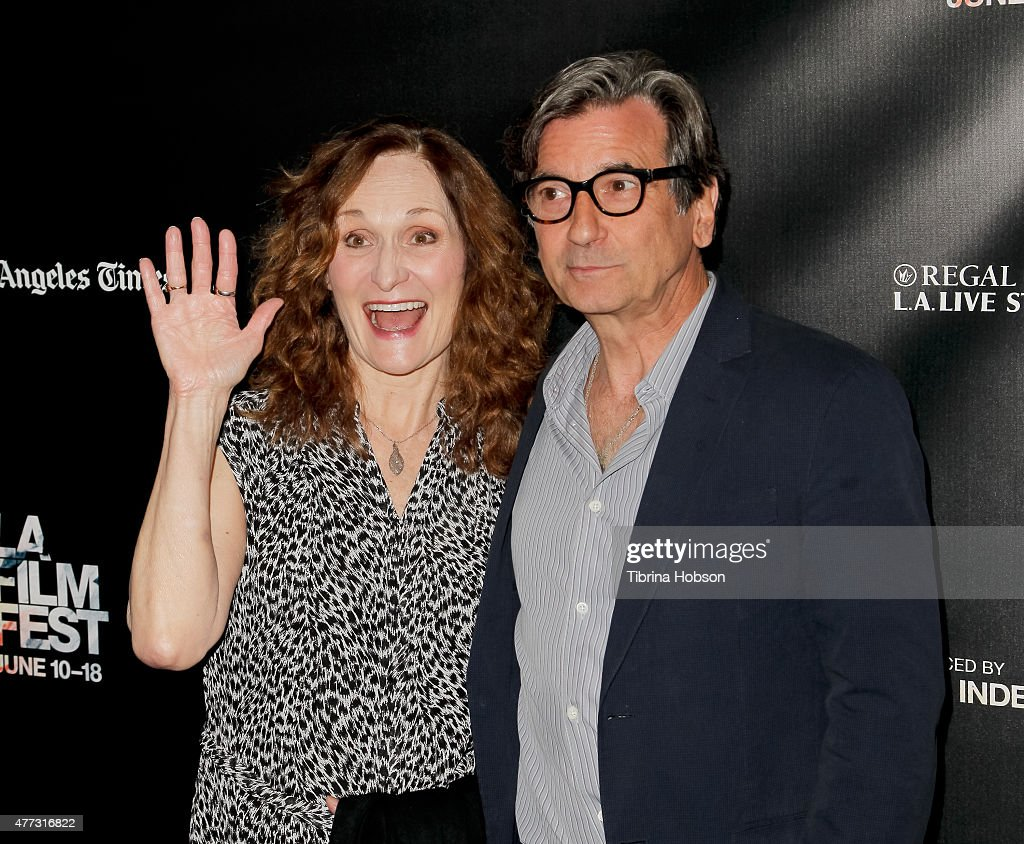 laff world premiere of beth grant and griffin dunne attend laff world premiere of consumed at regal cinemas