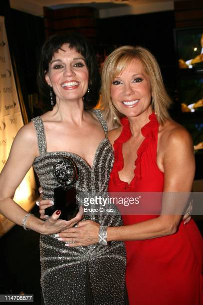 Beth Leavel winner of Best Performance by a Featured Actress in a Musical for 'The Drowsy Chaperone' and Kathie Lee Gifford