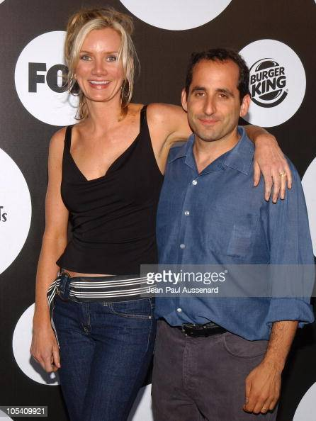 Beth Littleford and Peter Jacobson during FOX New Season Launch Party at 2030 Barnard Way in Santa Monica California United States