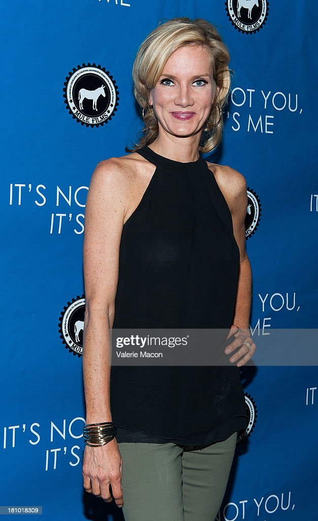 Beth Littleford arrives at the premiere of 'It's Not You, It's Me' at Downtown Independent Theatre on September 18, 2013 in Los Angeles, California.