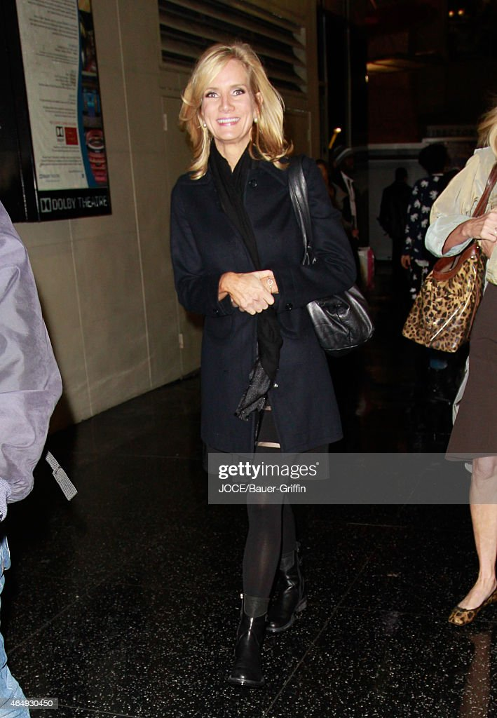 Beth Littleford is seen in Hollywood on March 01 2015 in Los Angeles California