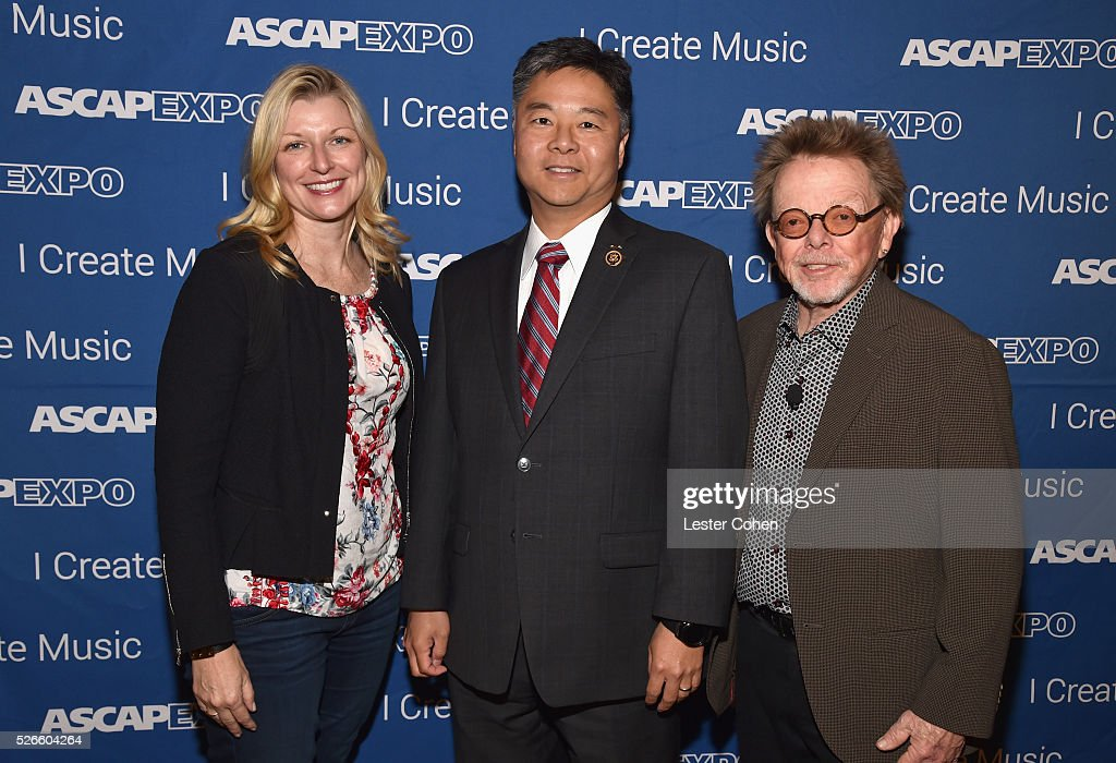 <a gi-track='captionPersonalityLinkClicked' href=/galleries/search?phrase=Beth+Matthews&family=editorial&specificpeople=13901421 ng-click='$event.stopPropagation()'>Beth Matthews</a>, Congressman Ted Lieu and ASCAP President/Chairman <a gi-track='captionPersonalityLinkClicked' href=/galleries/search?phrase=Paul+Williams+-+Songwriter&family=editorial&specificpeople=5853768 ng-click='$event.stopPropagation()'>Paul Williams</a> attend the 2016 ASCAP 'I Create Music' EXPO on April 30, 2016 in Los Angeles, California.