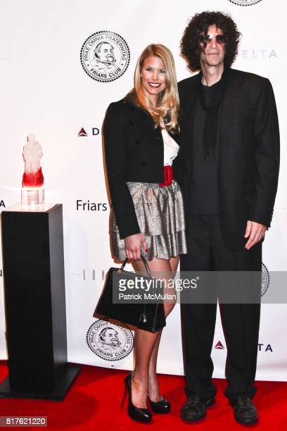 Beth Ostrosky and Howard Stern attend THE NEW YORK FRIARS CLUB ROAST OF QUENTIN TARANTINO at Friars Club on December 1 2010 in New York City